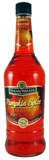Hiram Walker Schnapps Pumpkin Spice 750ml - Case of 12